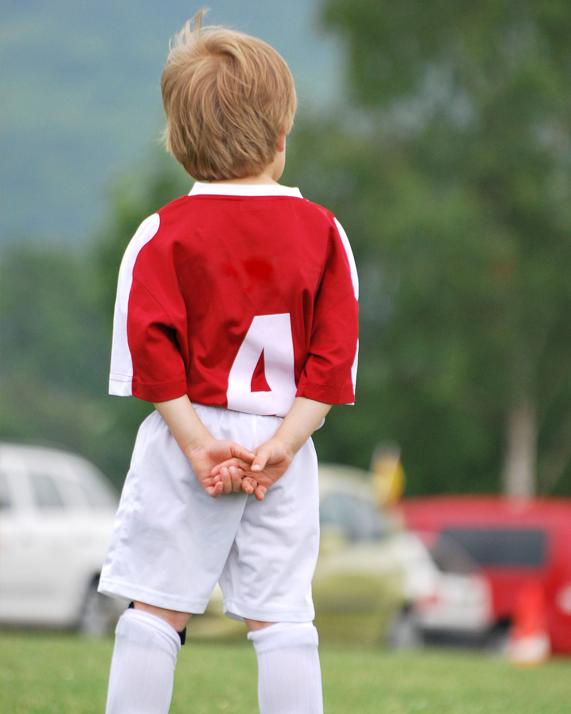Bambino non vuole fare sport